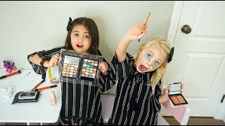 BESTIES DO EACH OTHERS MAKEUP!! (Cutest tutorial ever!)