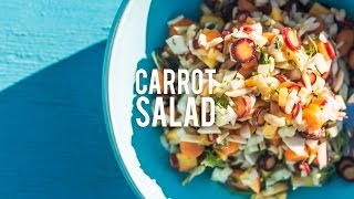 Chopped Carrot Salad |Bondi Harvest