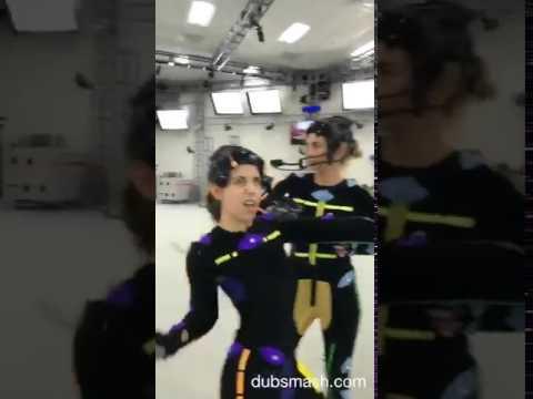 Claudia Black & Laura Bailey dancing 2017 ClaudiaBlack
