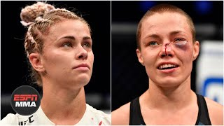DC & Helwani talk Rose Namajunas' win, Paige VanZant's future | ESPN MMA
