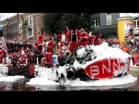 Amsterdam Canal Parade 2012 - BNN (Dutch TV network) float