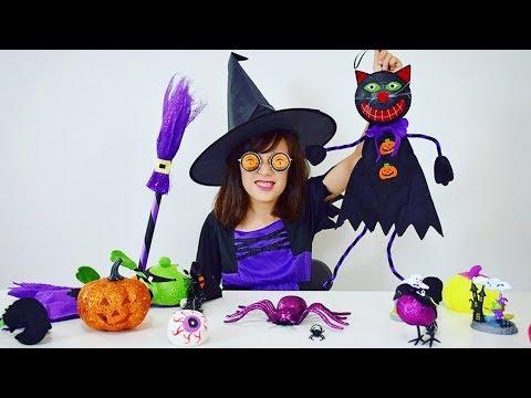 MINHA DECORAÇÃO ARREPIANTEMENTE FASHION!!! ★ Bruxinha Lucinda e Halloween pra minha casa no Canadá