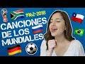 Historia y Canciones del Mundial De F  tbol   Patty Mac  as