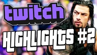 """ROMAN REIGNS IS THE KING OF THE RING"" - [Twitch Highlights #2]"