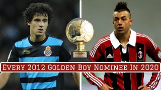 Every 2012 Golden Boy Award Nominee: Where Are They Now?
