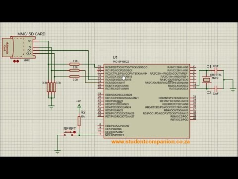 How to use SD Card With PIC Microcontroller using XC8 and