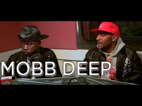 Mobb Deep talk past differences + New Album On Real Late!!