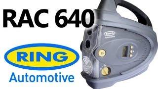 Ring RAC640 — компрессор — видео обзор 130.com.ua