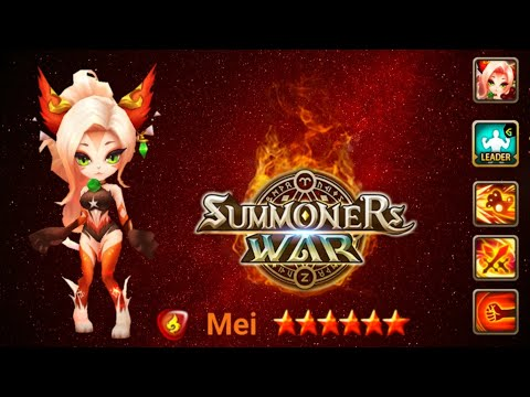 That's How Mei [Fire Martial Cat] Performs In World Arena - Summoners War