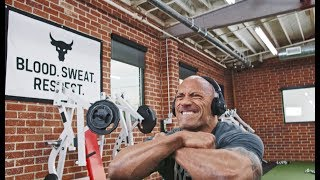 Lunges. BEND BOUNDARIES. | Dwayne Johnson Under Armour Campaign