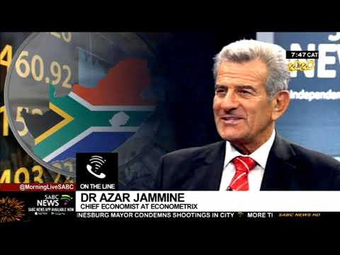 South Africa's economic outlook: Azar Jammine