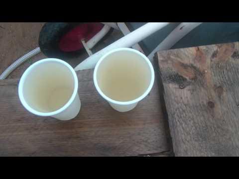 железистая вода простое решение аэрация