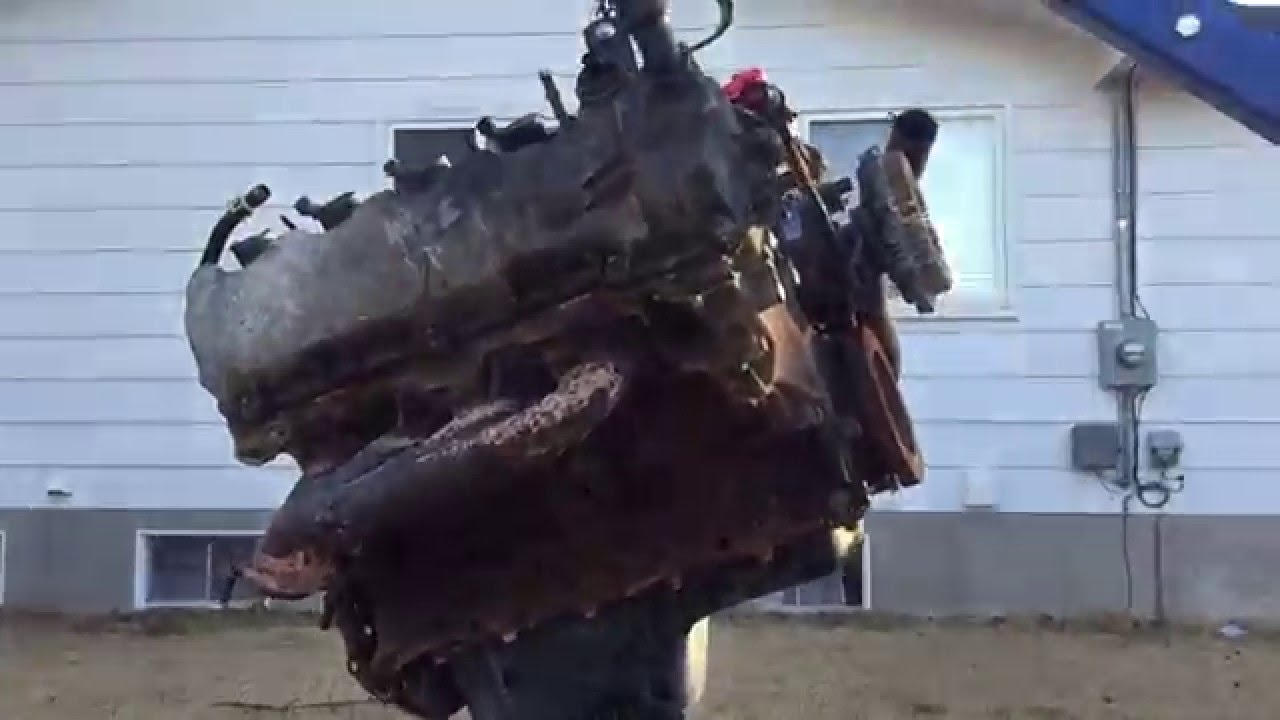 f 150 5 4 engine removal youtube