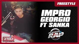 Impro de Georgio et Sanka en live dans Planète Rap