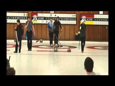 Ontario Pepsi Junior Curling: James Harris vs Graham Singer