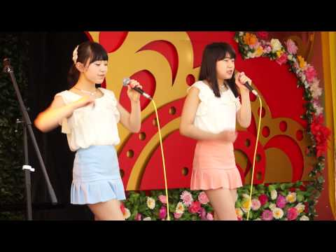 【ミニスカNEW衣装】 葵と楓 『恋の季節』 ピンキーとキラーズ 花やしき
