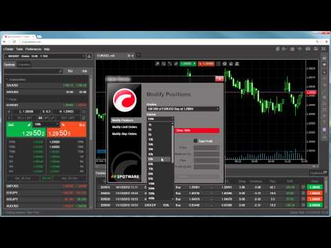 cTrader Web - Closing Positions and Cancelling Orders