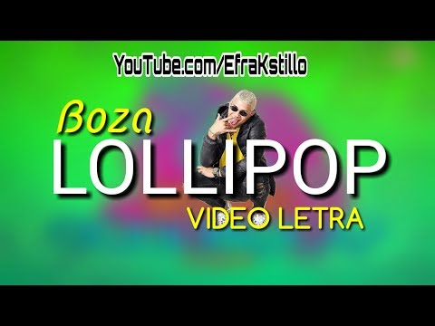 Boza - Lollipop [Lyrics Video]
