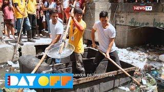 Day Off: Jak Roberto at Ken Chan, natutong maglinis ng estero sa Maynila!