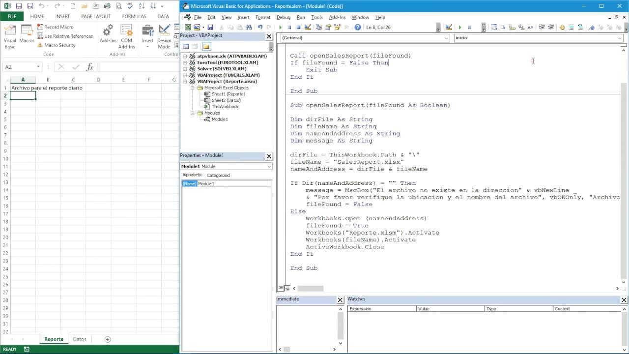 33 VBA Excel 2013 MsgBox Multilinea y continuar una instruccion ...