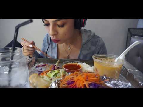 ASMR FOR THE FIRST TIME! THAI FOOD