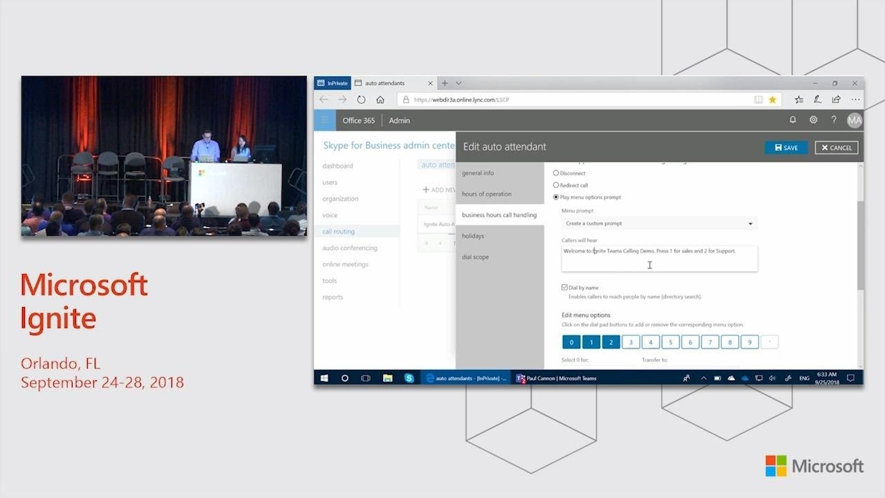 Collaborative calling and business voice in Microsoft Teams - BRK3232