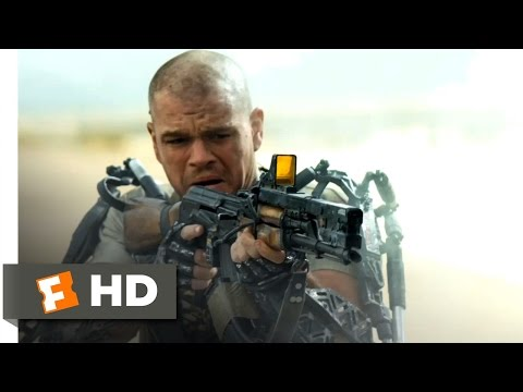 Elysium (2013) - Kruger's Kill Scene (4/10) | Movieclips