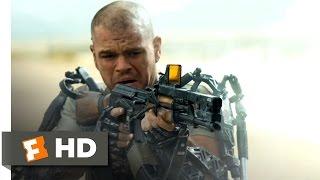 Elysium (2013) - Kruger's Kill Scene (4/10) | Movieclips