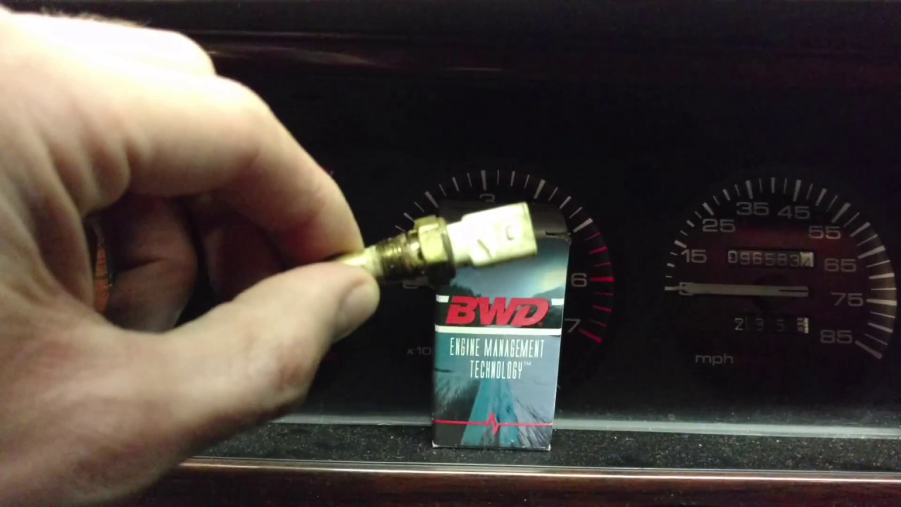 Jeep Cherokee Xj Zj Wj Temperature Gauge Not Working Sending Unit