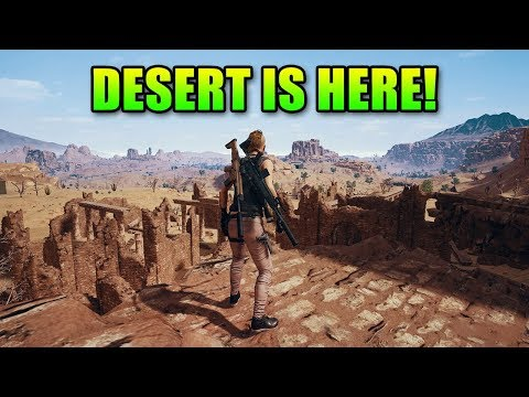 Desert Map First Impression + New Guns | PlayerUnknown's Battlegrounds Miramar thumbnail