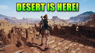 Desert Map First Impression + New Guns | PlayerUnknown's Battlegrounds Miramar