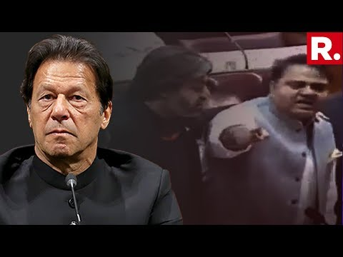 Huge Embarrassment For PM Imran Khan, Pakistan Senator Calls His Minister 'Dog' In Parliament