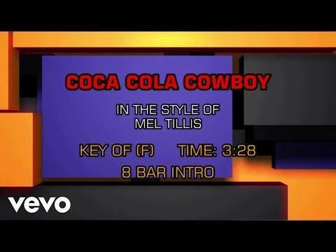 Mel Tillis - Coca Cola Cowboy (Karaoke)