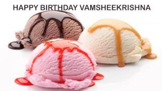 VamsheeKrishna  Birthday Ice Cream & Helados y Nieves