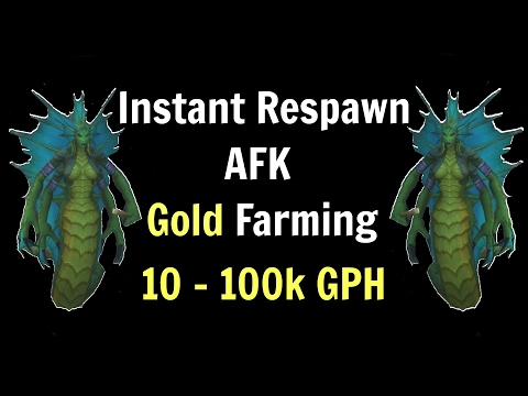 WoW Legion | Instant Respawn AFK Gold Farming | 10 - 100k Gold Per Hour