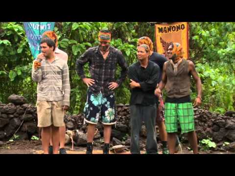 Supercut: Jeff Probst at Survivor challenges