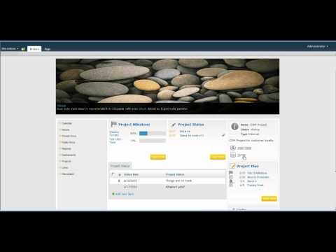Very Cool Project Site Template Sharepoint