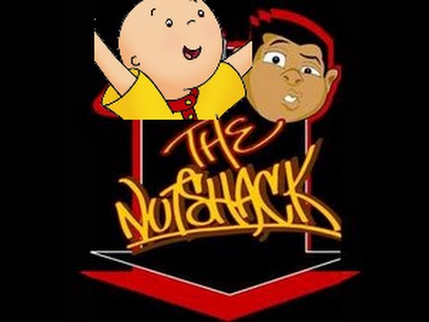 the nutshack but instead of nutshack it's caillou but instea