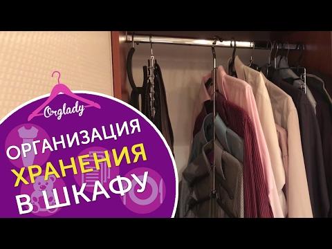 Организация и хранение в шкафу на штанге. Четыре варианта как организовать хранение в шкафу.
