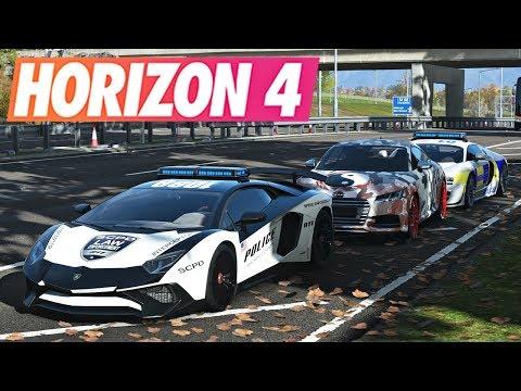 Forza Horizon 4 [RP] POLICE VS VOLEURS #5 (Contrôles et courses poursuite) thumbnail