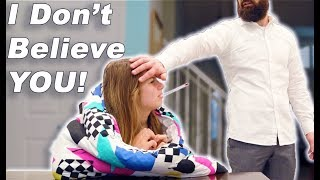 Faking Sick PRANK to Skip School and IT WORKED This Time!!