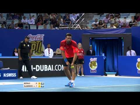 IPTL 2014 Dubai : Singapore Slammers V UAE Royals