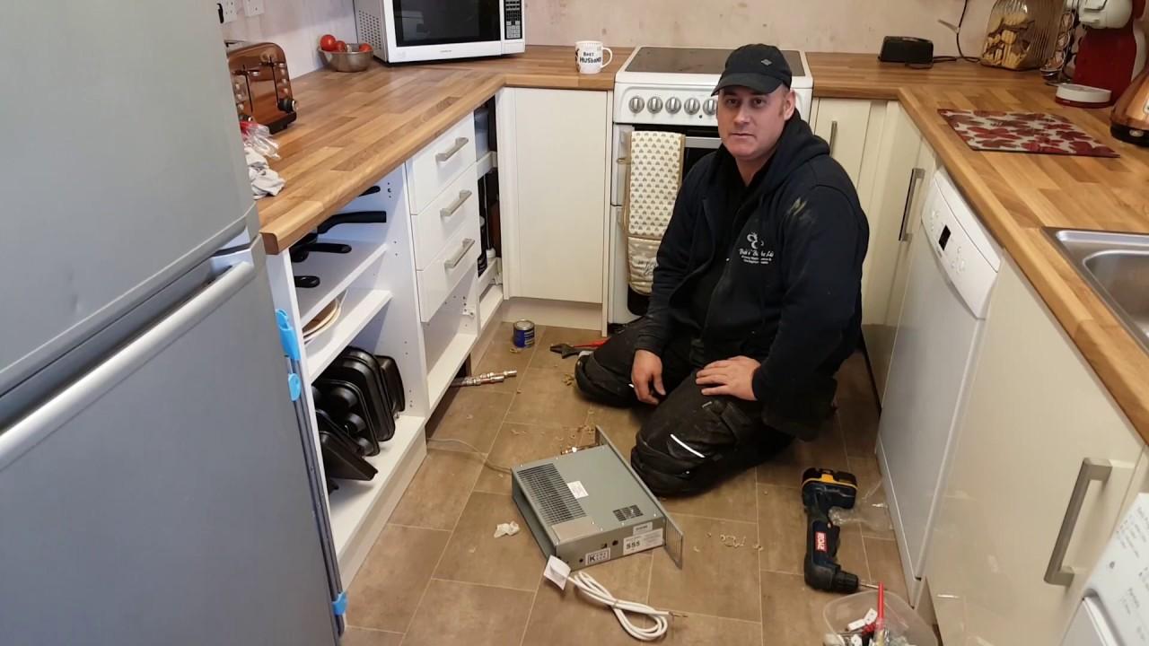 Smithu0027 Plinth Heater Installation Pt2