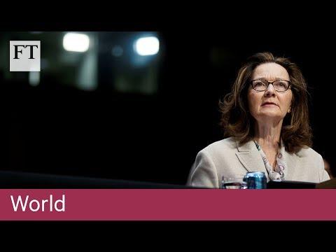 No restart of CIA torture programme says Gina Haspel