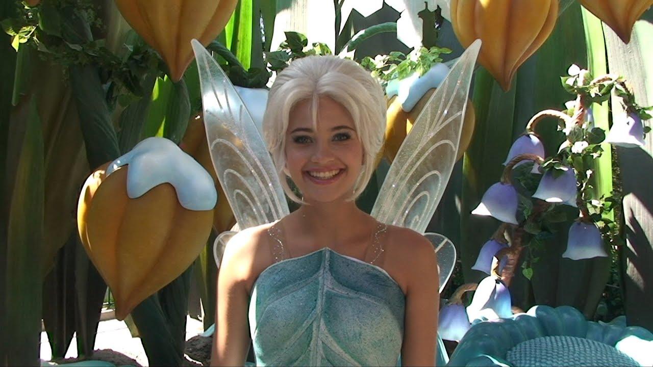 Fairy Periwinkle Debuts At Disneyland Meet Amp Greet W