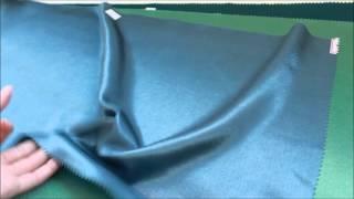 видео Ткань креп-сатин