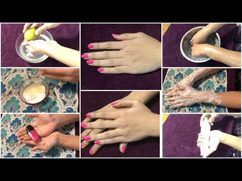 #EASY SALON STYLE MANICURE AT HOME