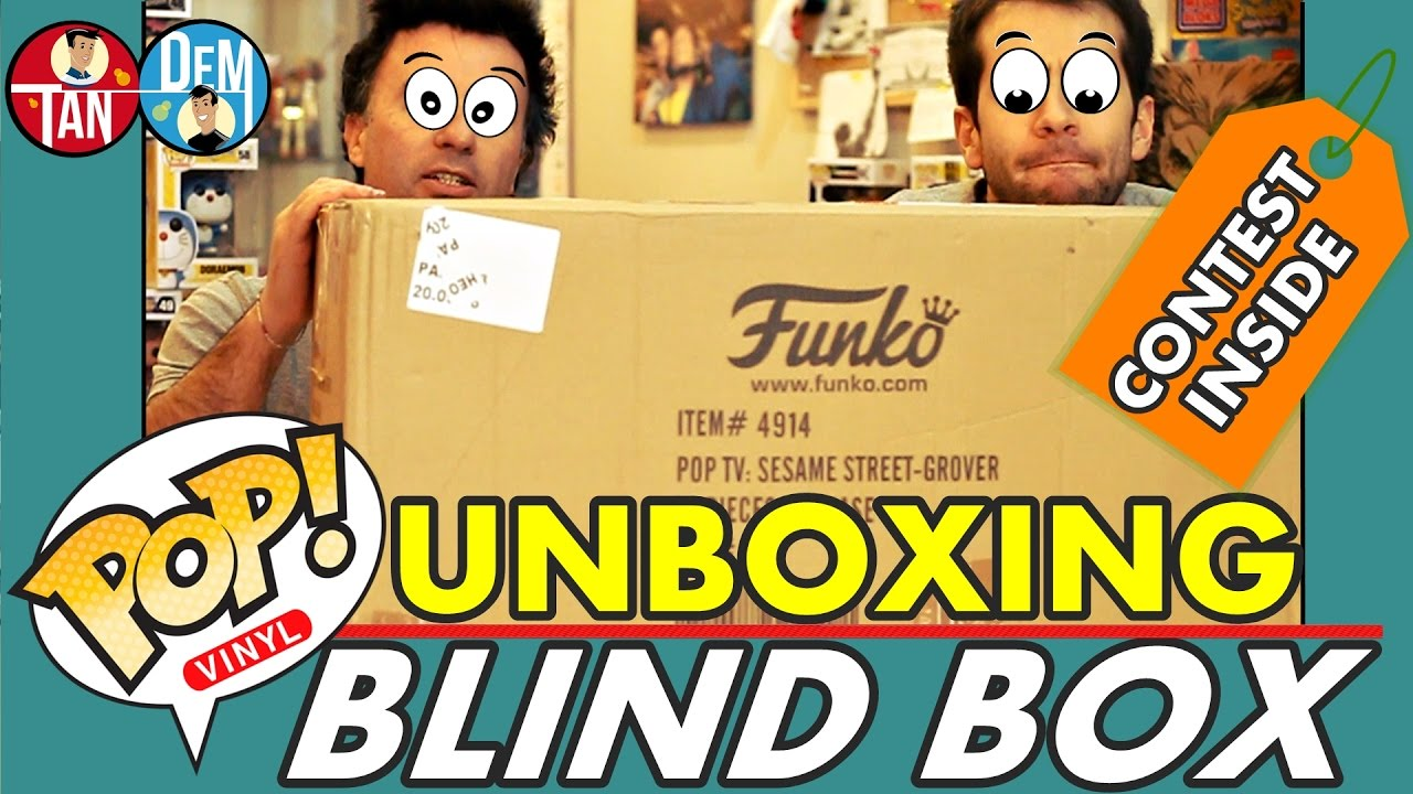 FUNKO POP! BLIND BOX Unboxing [CONTEST/GIVEAWAY Inside]