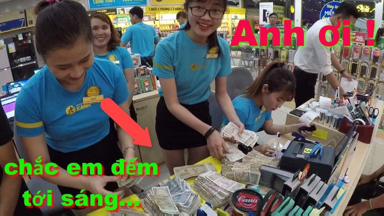 Thử mang thật nhiều tiền lẻ vào Thế Giới Di Động mua điện thoại và cái kết – XIAOMI REDMI NOTE 6 PRO