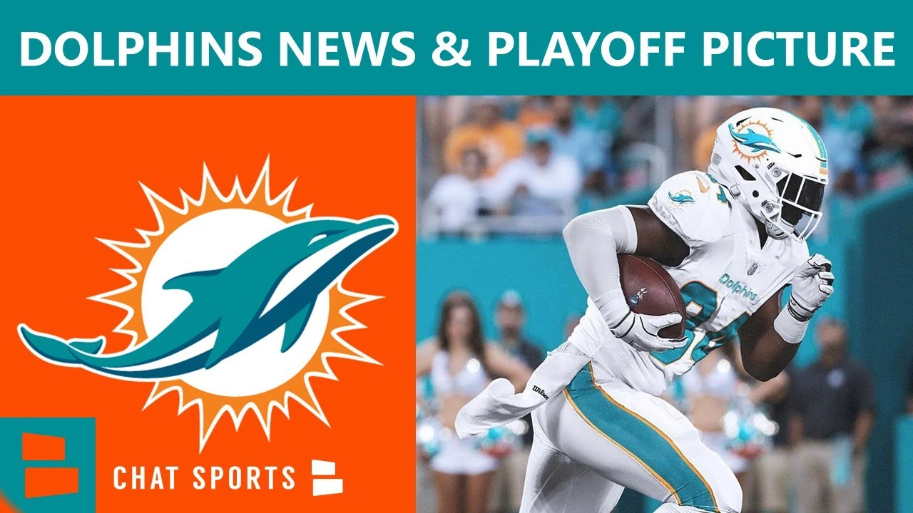 Miami Dolphins News & Rumors On NFL Playoff Picture, Jordan Howard Released & Zach Sieler Extension